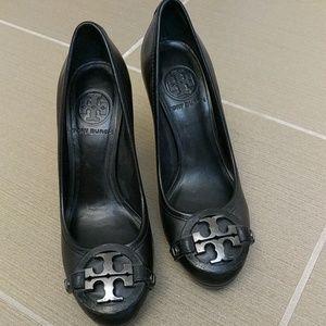 Tori Burch Platform Sandals